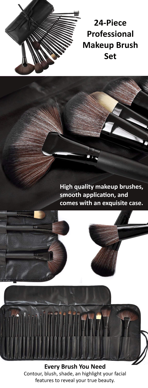 Piece Professional Makeup Brush Set