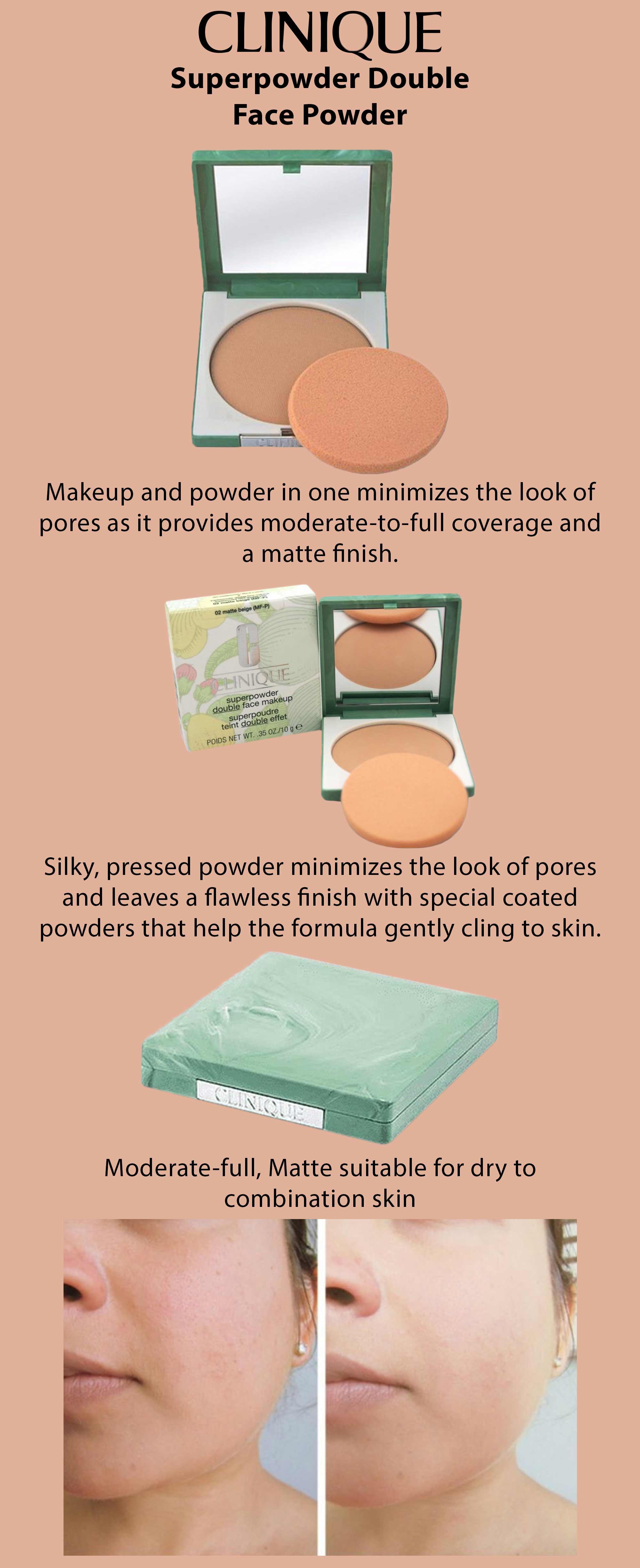 Shop Clinique Superpowder Double Face Powder Matte Beige online in Dubai,  Abu Dhabi and all UAE