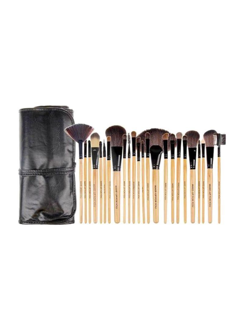 24 Piece Professional Makeup Brush