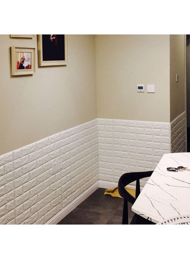 تسوق سايتلونجز وملصق للجدار بشكل أحجار طوب ثلاثية الأبعاد ...