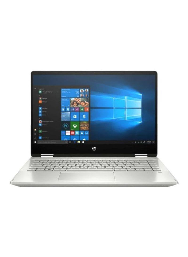 - Hp Pavilion X360 – Convertible 2-In-1 Laptop   14 Inch display Core i3 PROCESSOR 4GB RAM 256GB SSD INTEL UHD GRAPHICS Silver