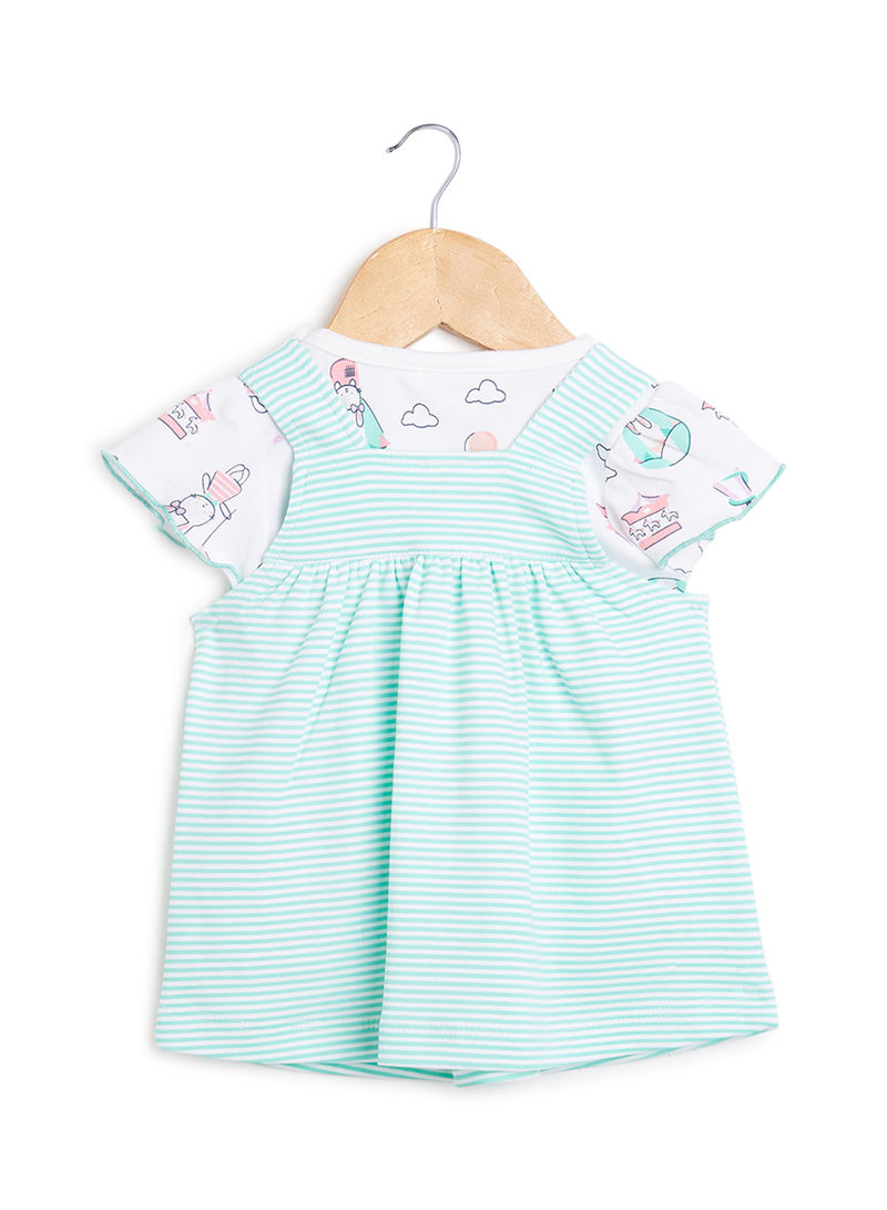 Shop TOFFYHOUSE Infant T-Shirt & Dress Set S.Green online in Dubai, Abu  Dhabi and all UAE