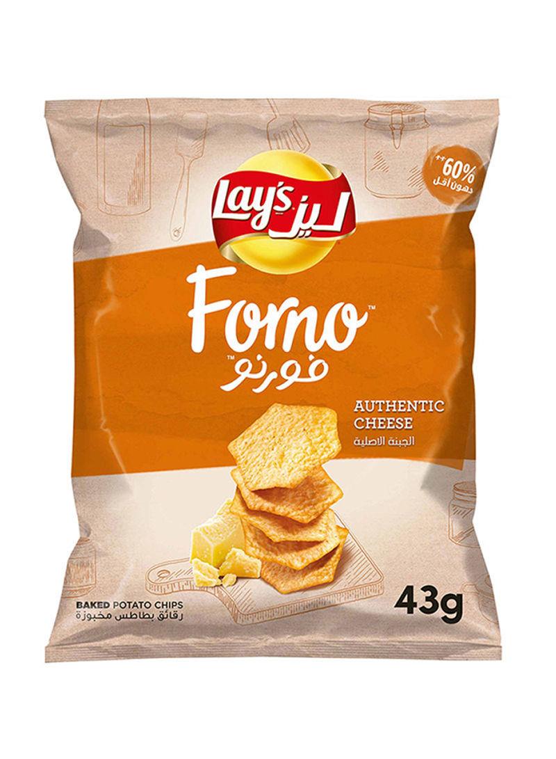 تسوق ليز وفورنو بنكهة الجبنة الأصلية 43غم أونلاين في الإمارات