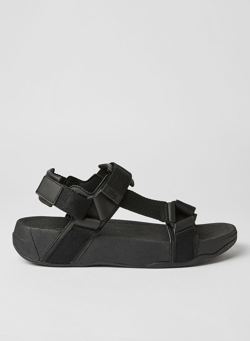 Shop fitflop Velcro Strap Sandals Black