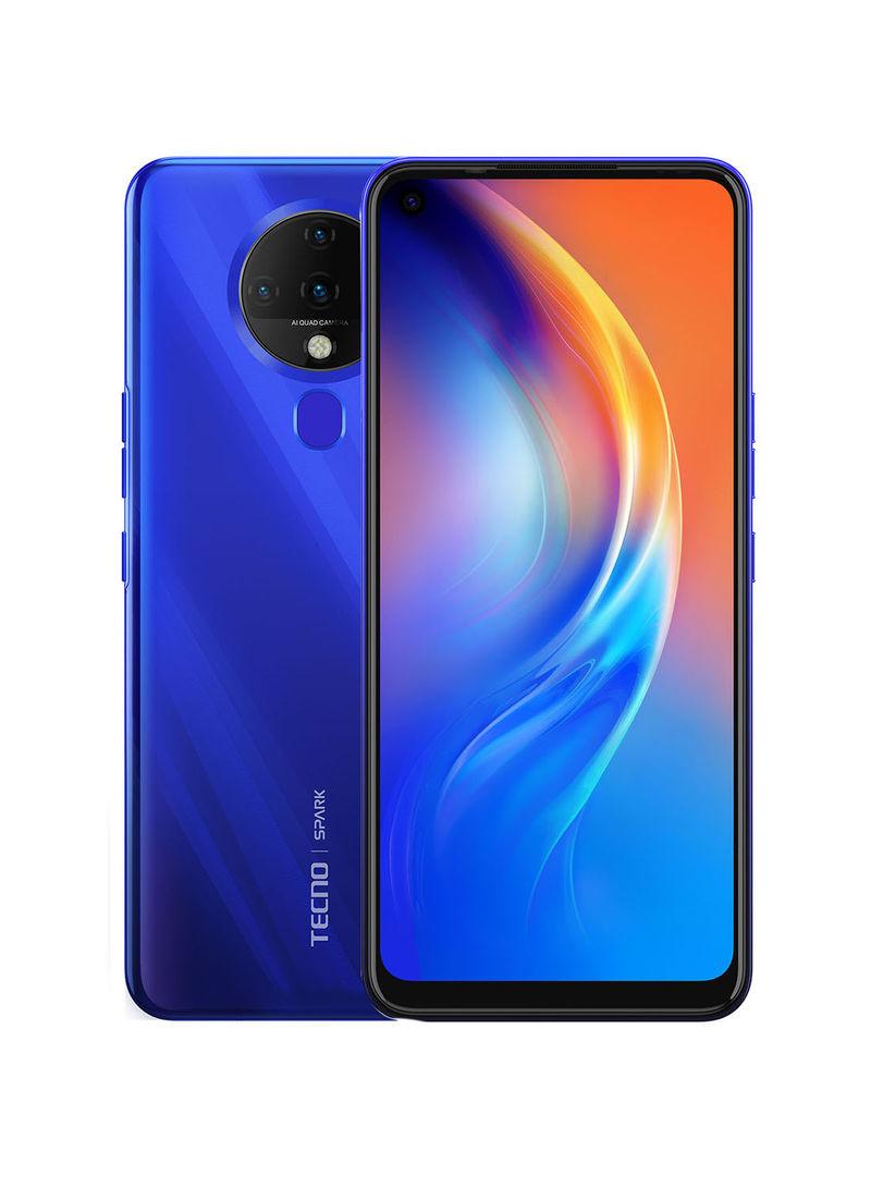 - Tecno Spark 6 – Dual SIM Ocean Blue 4GB RAM 64GB 4G LTE